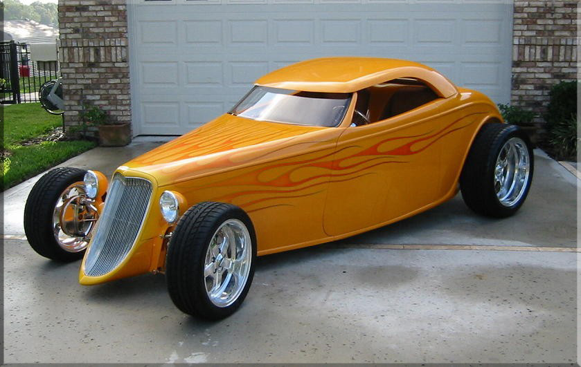 33 Ford Roadster Hot Rod